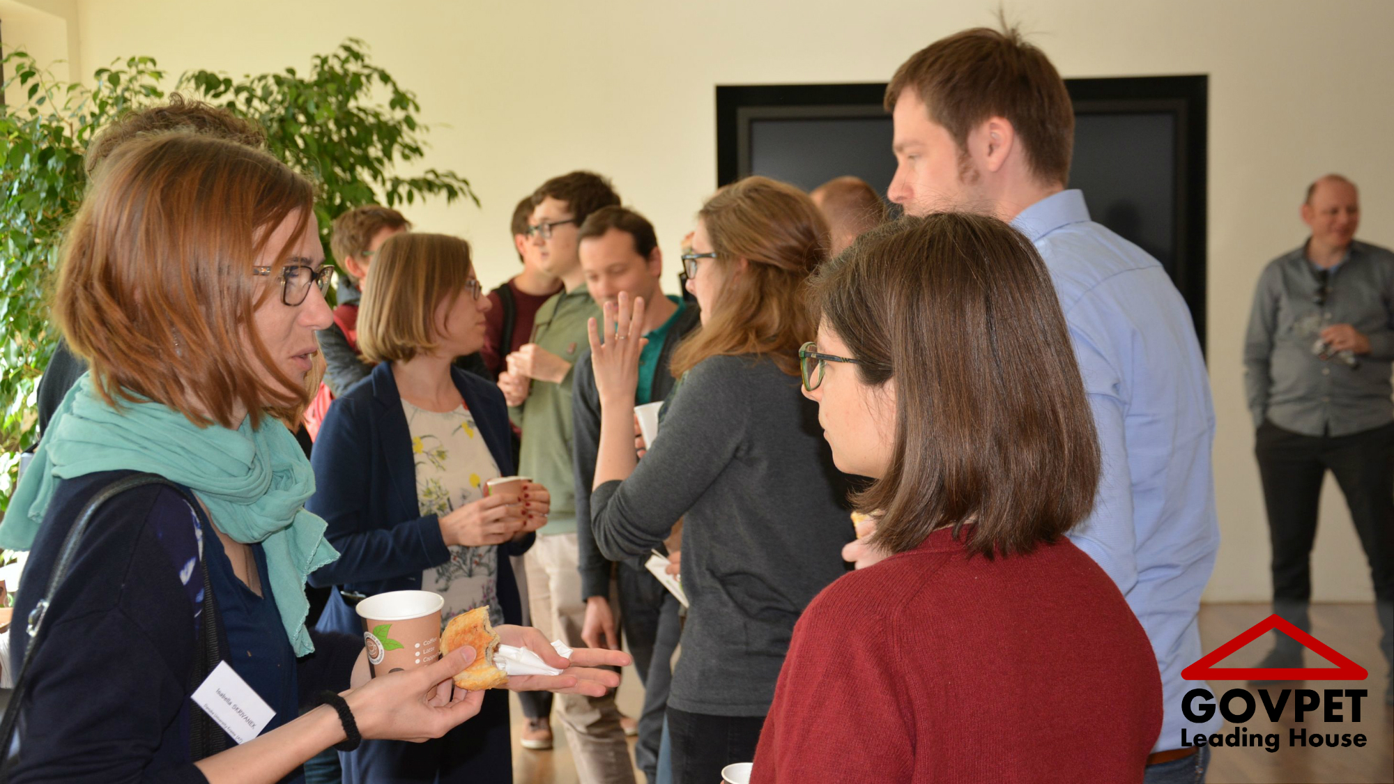Informal exchange at the PhD-Congress in Lausanne