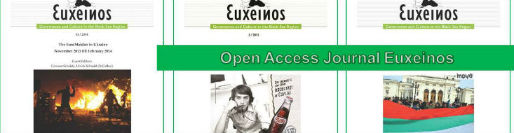 Covers of the Open Access Journal of Euxeinos Magazine
